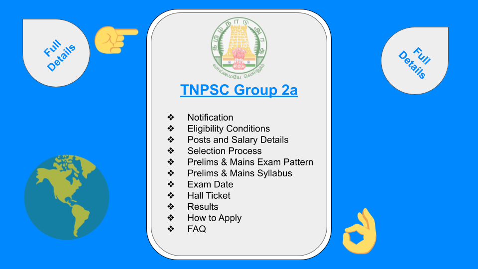 TNPSC Group 2a non interview posts and salary details