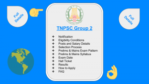 TNPSC Group 2 Posts and Salary Details